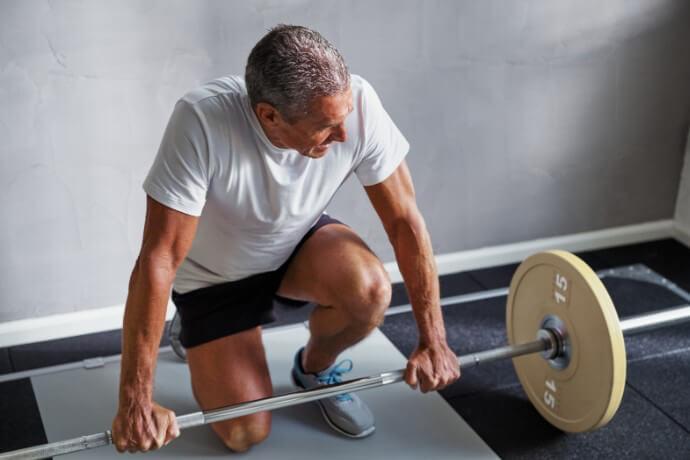 Free weight lift  - hemorrhoids pain